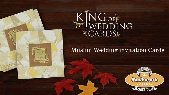 Make your d day extra special madhurash cards muslim invitation cards stopboris Images