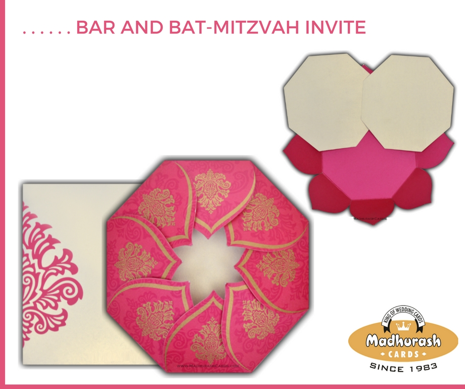 10. Bar and Bat-Mitzvah Invite