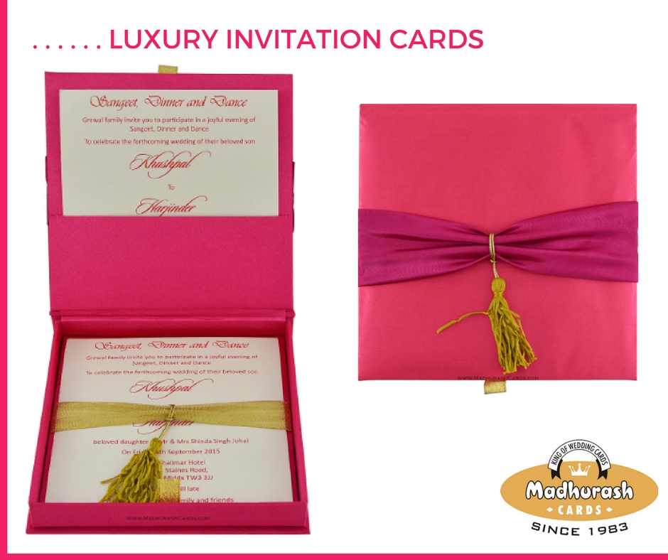 5. Luxury Invite