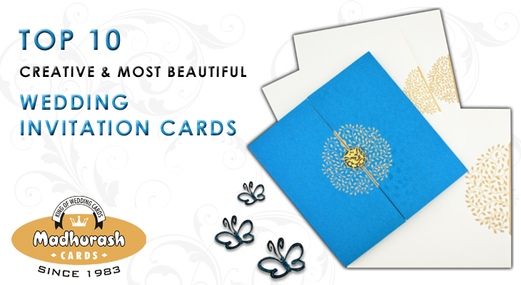 Most Popular Wedding Invitations: Top 10 Creative And Most Beautiful Wedding Invitation