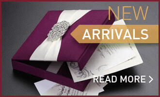 New Arrival Wedding Invitations