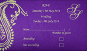 Indian Wedding Invitation Collection