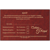 Collection of RSVP Cards by Madhurash Cards