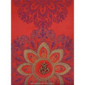 Fabric Wedding Invitation Cards By Madhurash Cards