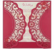Custom Wedding Invitation Cards
