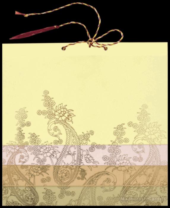 Muslim Wedding Cards - MWC-16137