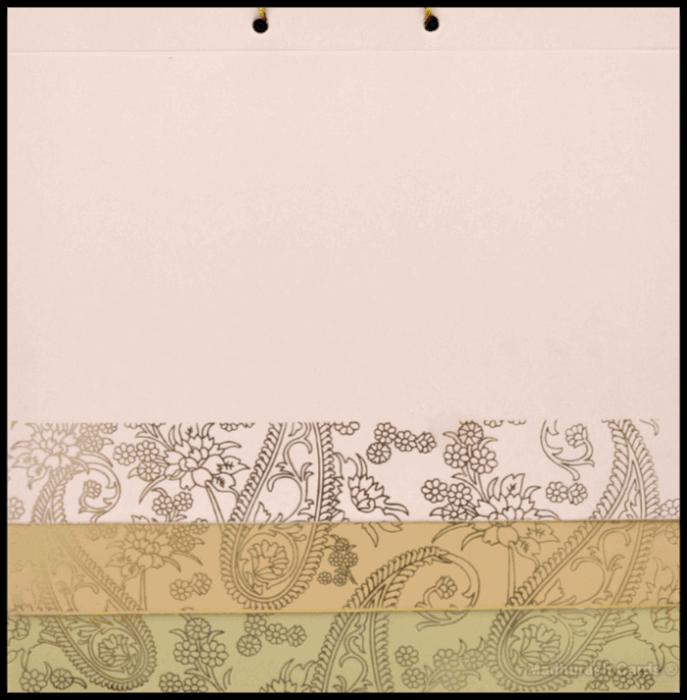Muslim Wedding Cards - MWC-16137 - 4