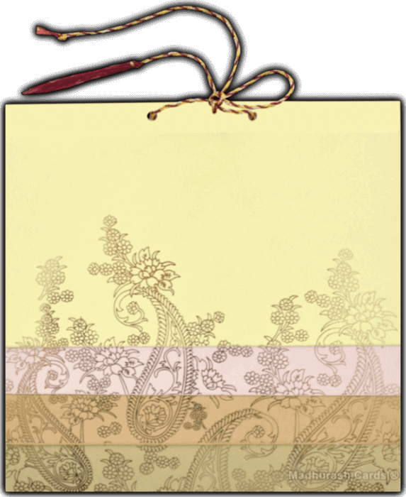 Hindu Wedding Cards - HWC-16137