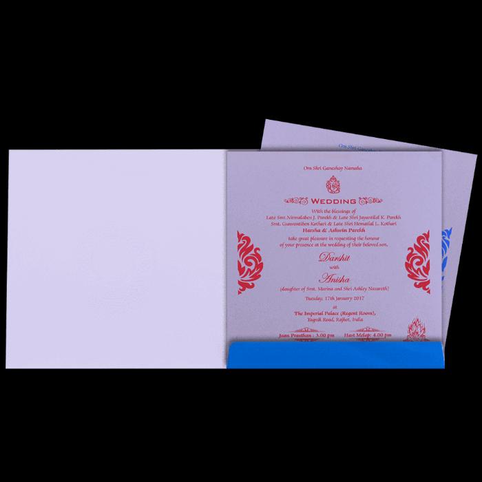 Hindu Wedding Cards - HWC-16093I - 3