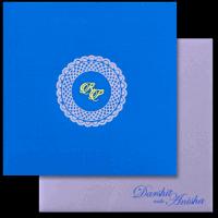 Sikh Wedding Cards - SWC-16093I
