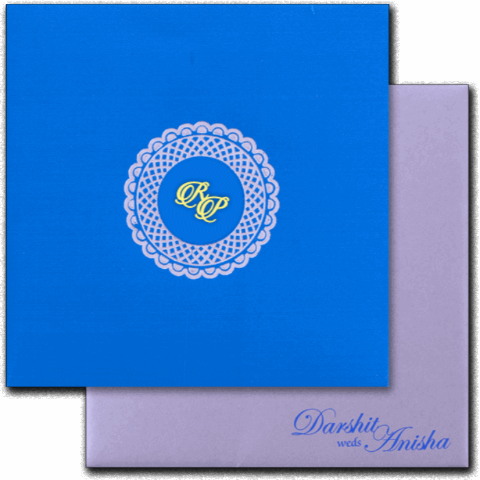 Sikh Wedding Cards - SWC-16093I
