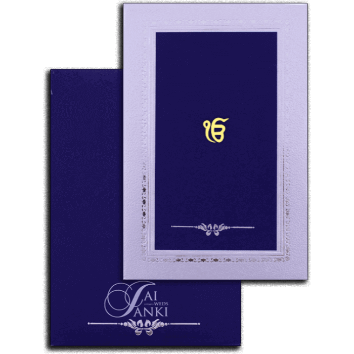 test Hard Bound Wedding Cards - HBC-16048S