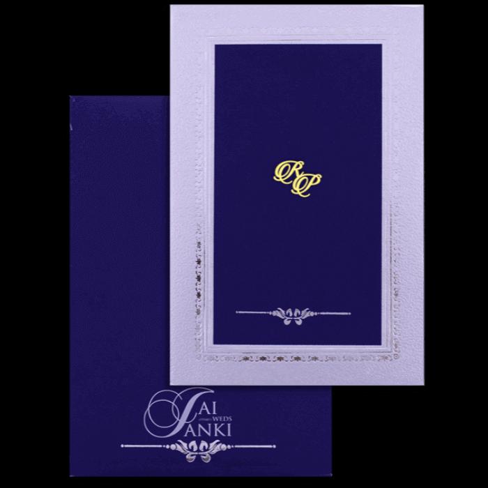 test Hard Bound Wedding Cards - HBC-16048I