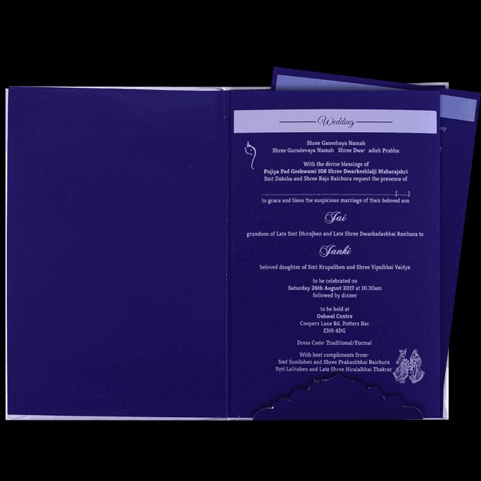 Hard Bound Wedding Cards - HBC-16048I - 3