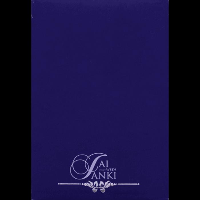 Hard Bound Wedding Cards - HBC-16048I - 4