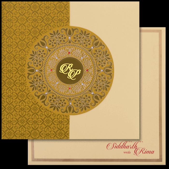 Hindu Wedding Cards - HWC-16116I