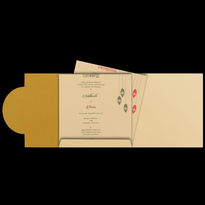 Hindu Wedding Cards - HWC-16116I - 3