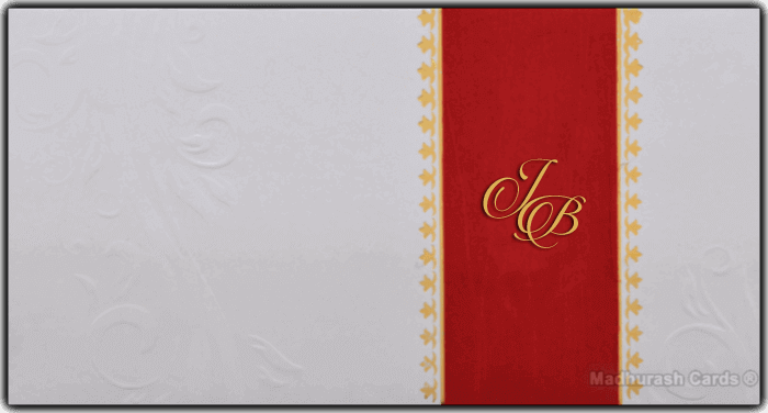Muslim Wedding Invitations - MWC-16166I