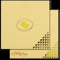 Muslim Wedding Cards - MWC-16162I