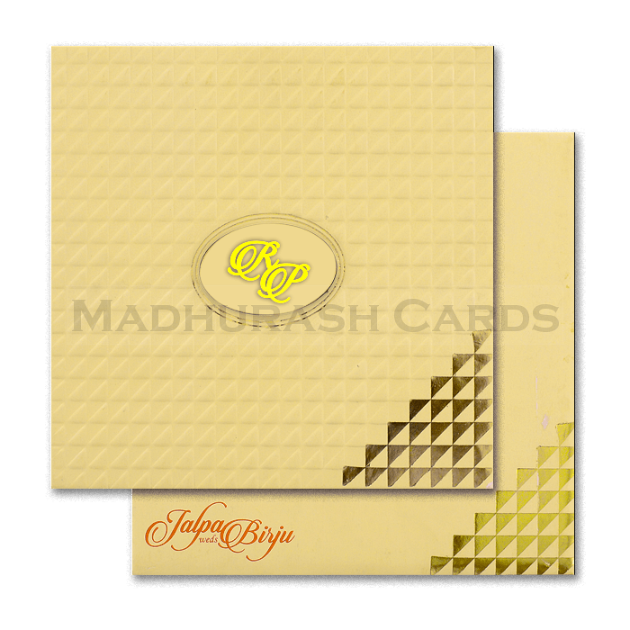 Muslim Wedding Cards - MWC-16162I