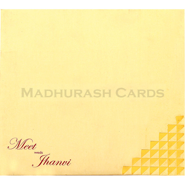 Muslim Wedding Cards - MWC-16162I - 3