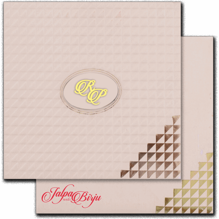 Hindu Wedding Cards - HWC-16162I
