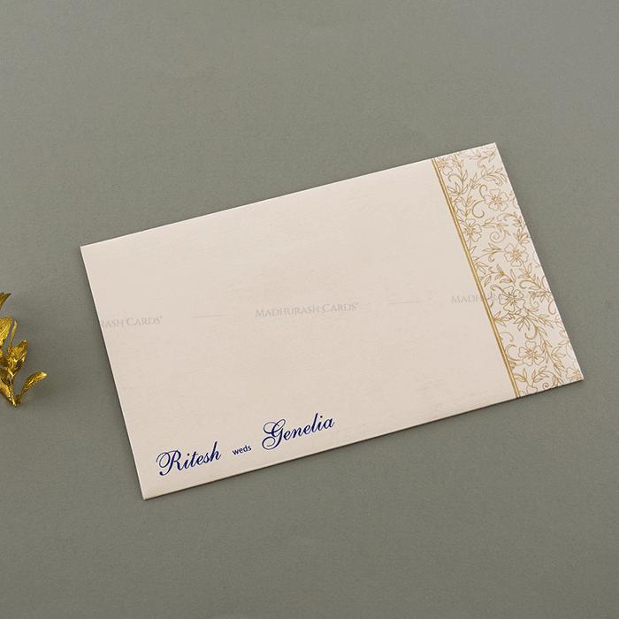 Hindu Wedding Invitations - HWC-16084I - 3