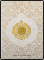 Hard Bound Wedding Cards - HBC-16046S