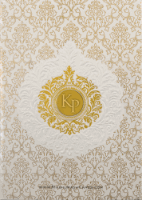 Hard Bound Wedding Cards - HBC-16046I