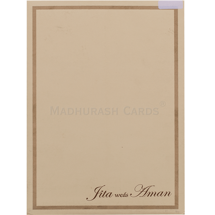 Sikh Wedding Cards - SWC-16109S - 3