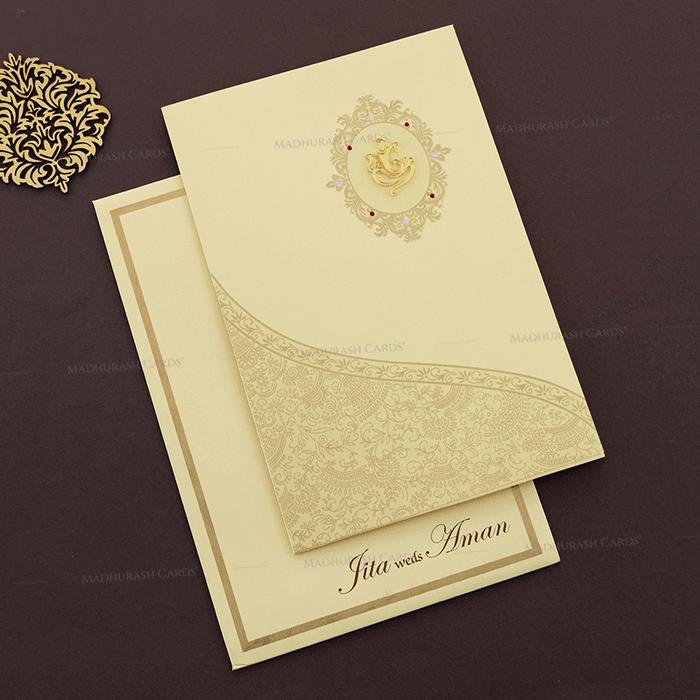 Muslim Wedding Invitations - MWC-16109I