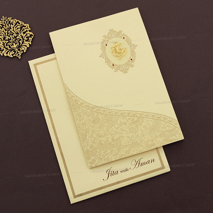 Hindu Wedding Cards - HWC-16109I