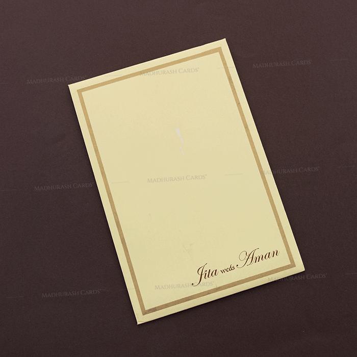 Christian Wedding Cards - CWI-16109I - 3