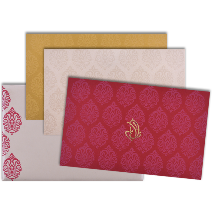 Custom Wedding Cards - CZC-9117RC - 4
