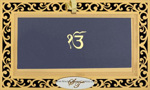 Sikh Wedding Invitations - SWC-9002S