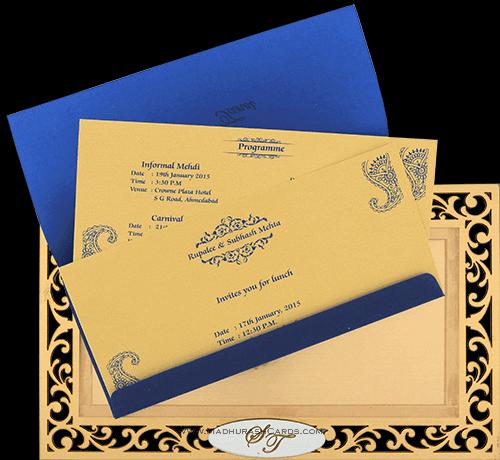 Sikh Wedding Invitations - SWC-9002S - 4