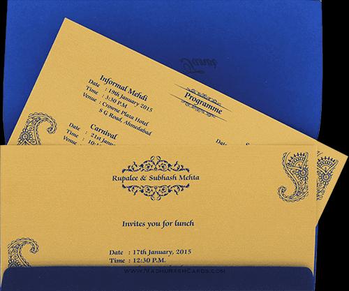 Sikh Wedding Invitations - SWC-9002S - 5