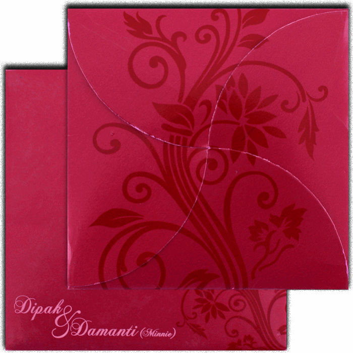 Sikh Wedding Cards - SWC-7111