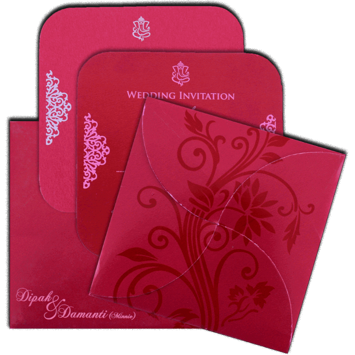 Sikh Wedding Cards - SWC-7111 - 5