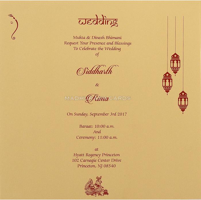 Fabric Wedding Cards - FWI-14032 - 5