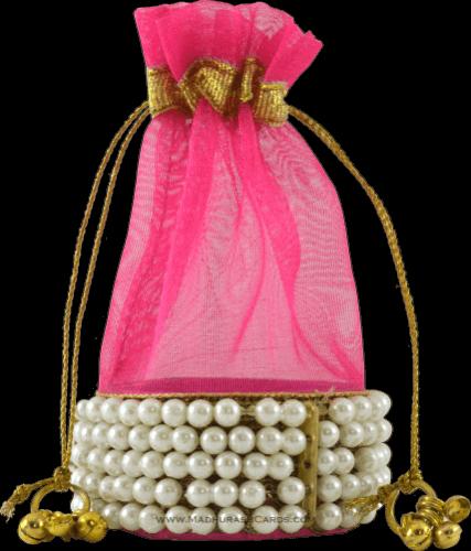 test Potli Bags (Batwa Bags) - BB-Round Batwa 2