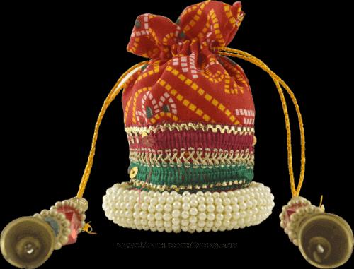 test Potli Bags (Batwa Bags) - BB-Round Batwa 5