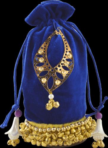 test Potli Bags (Batwa Bags) - BB-Round Batwa 9