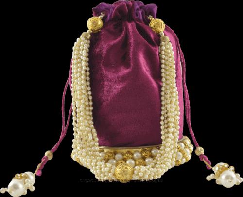 Potli Bags (Batwa) - BB-Round Batwa 11