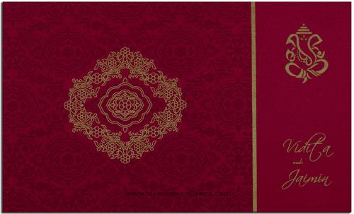 test Custom Wedding Cards - CZC-7332