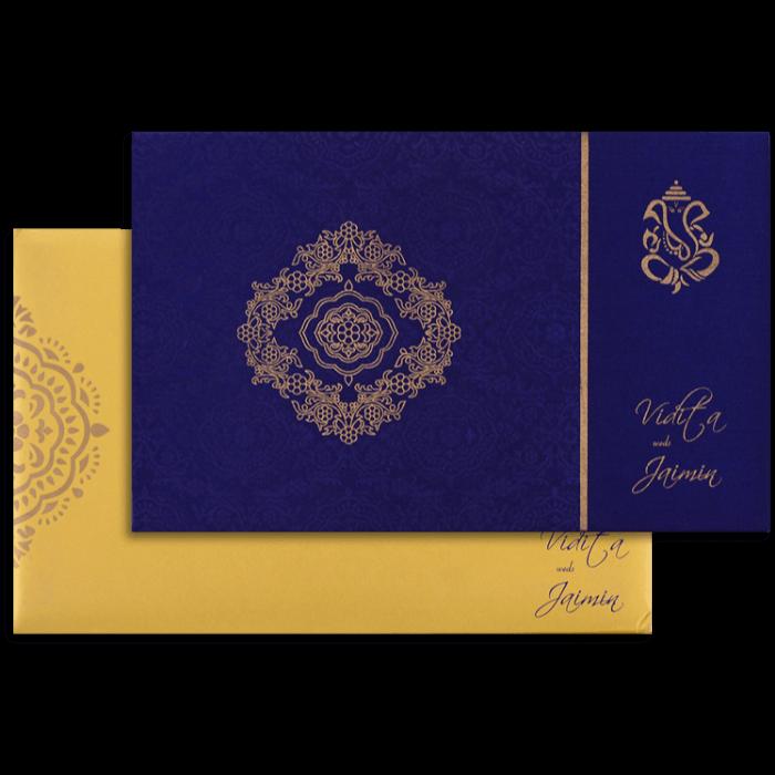 test Custom Wedding Cards - CZC-7335
