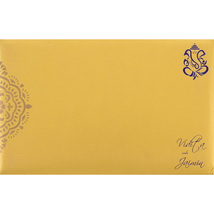 Custom Wedding Cards - CZC-7335 - 3
