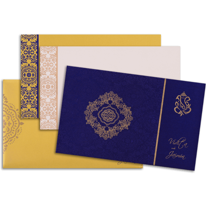 Custom Wedding Cards - CZC-7335 - 4
