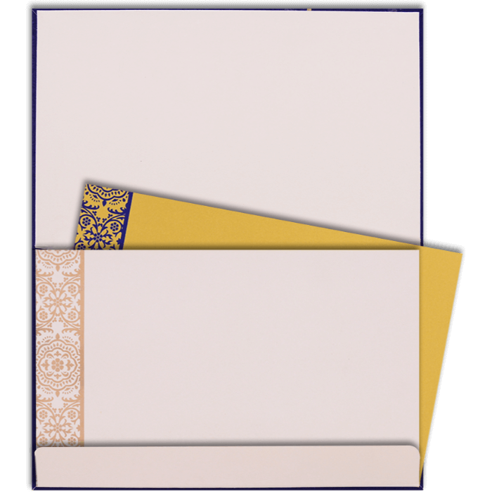 Custom Wedding Cards - CZC-7335 - 5