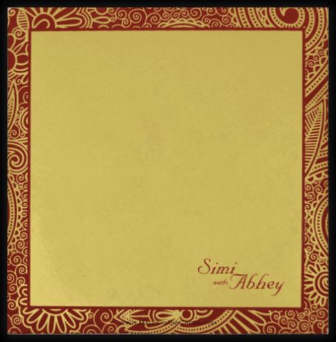 Hindu Wedding Cards - HWC-7318 - 3